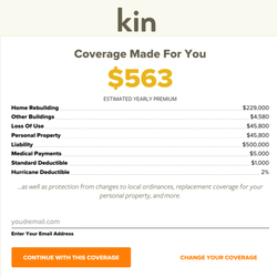 Kin insurance home rental insurance 100 s state st for Renters insurance chicago reviews