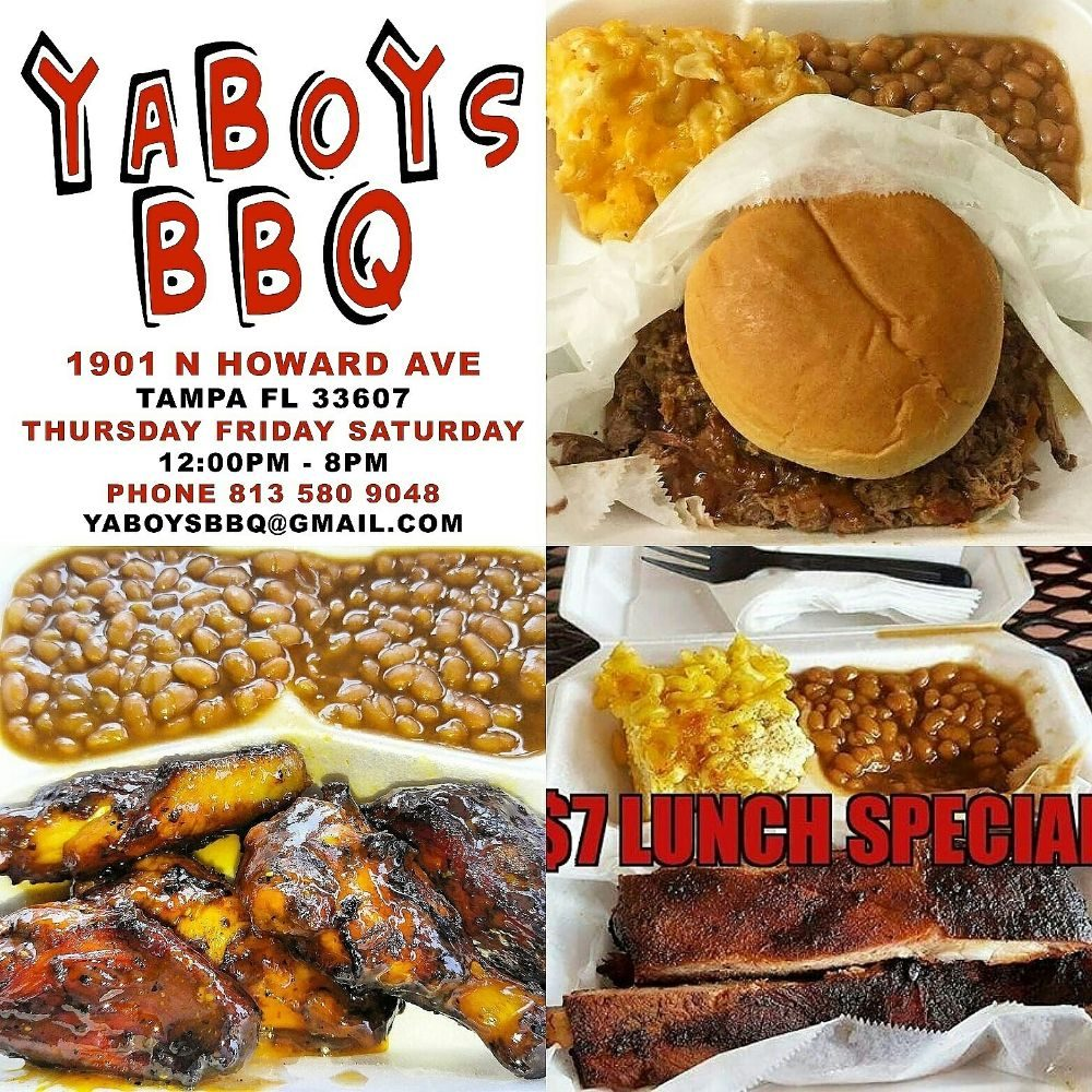 Ya Boy's BBQ: 1901 N Howard Ave, Tampa, FL