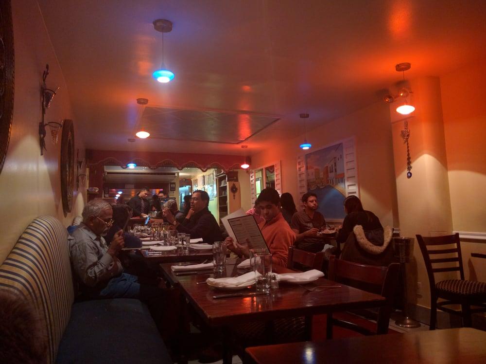 The interior yelp for Athena mediterranean cuisine ny