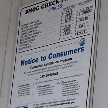 How Much Is A Smog Check >> Savers Smog Check Test Station 20 Photos 55 Reviews Smog Check