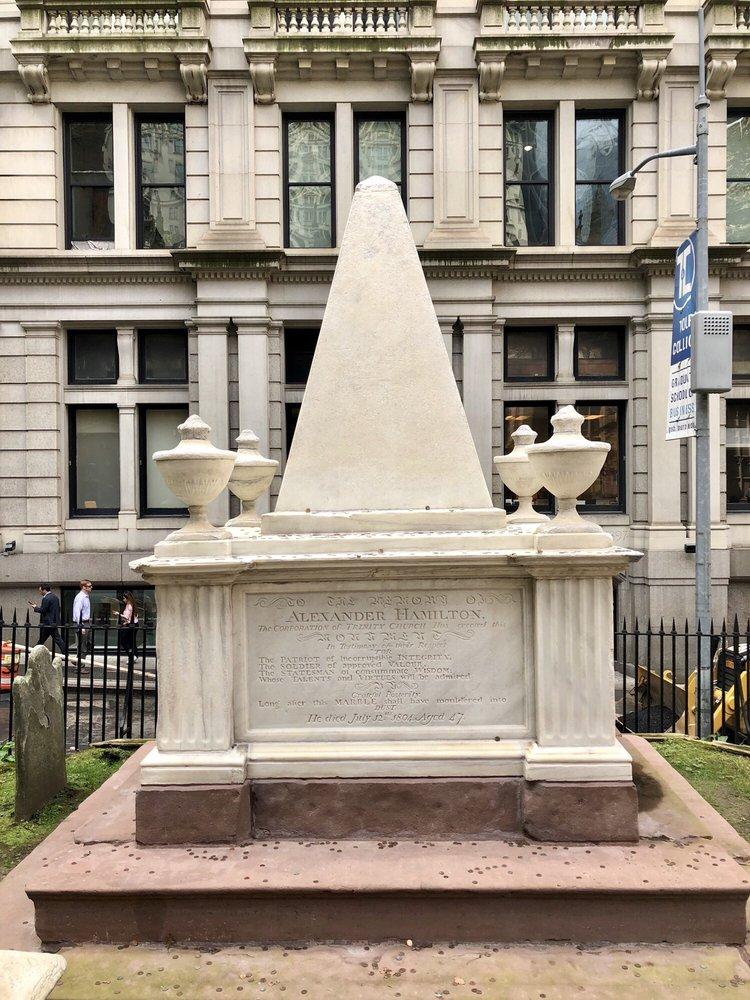 Trinity Church Cemetery: 74 Trinity Pl, New York, NY
