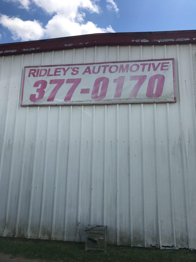 Ridley's Automotive: 616 2nd Ave SE, Cairo, GA