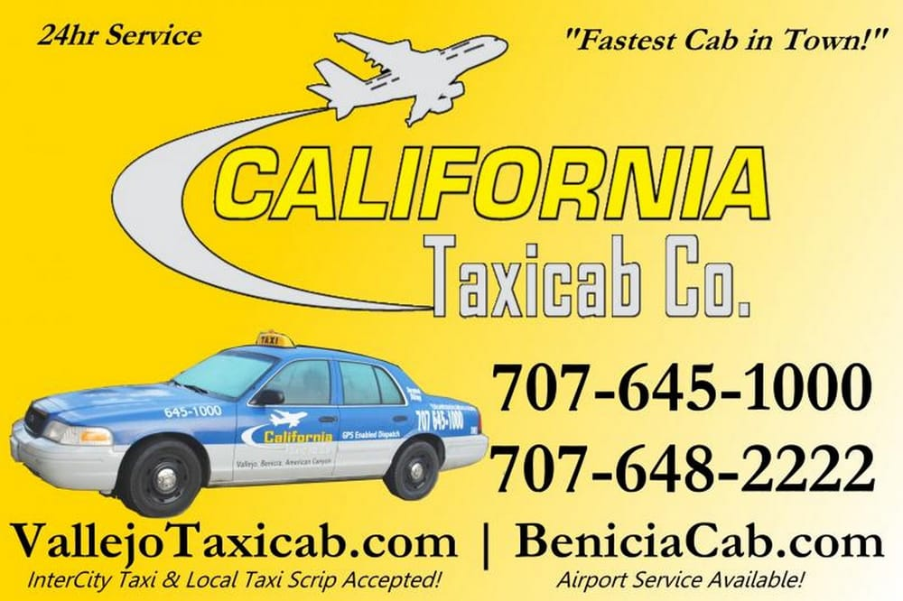 California Taxicab Company: 318 Lemon St, Vallejo, CA