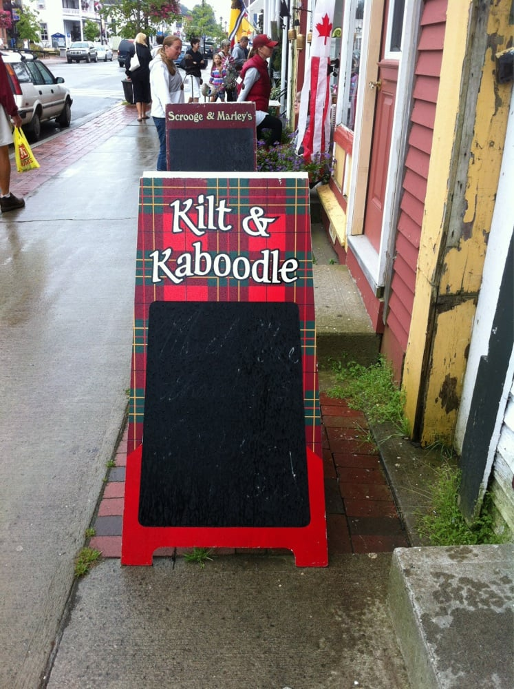 Kilt & Kaboodle: 185 Water Street, St Andrews, NB