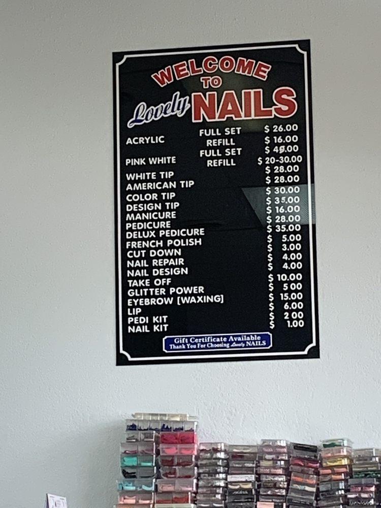 Lovely Nails: 1108 W Walker St, Breckenridge, TX