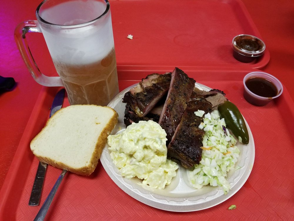 Food from Bill's Bar-B-Que