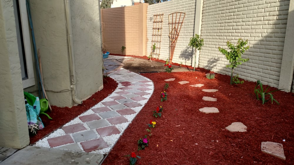 Photo of Medina Landscaping and Gardening Service - San Jose CA United States. & Side-House Pathway Design - Yelp