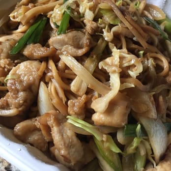 photo of north china garden tacoma wa united states chicken chow mein - North China Garden