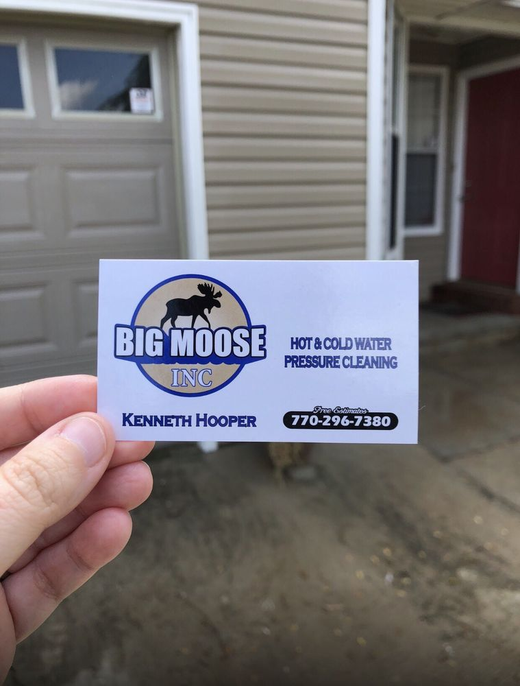 Big Moose Pressure Cleaning: McDonough, GA