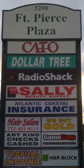 Dollar Tree: 5216 Okeechobee Rd, Fort Pierce, FL