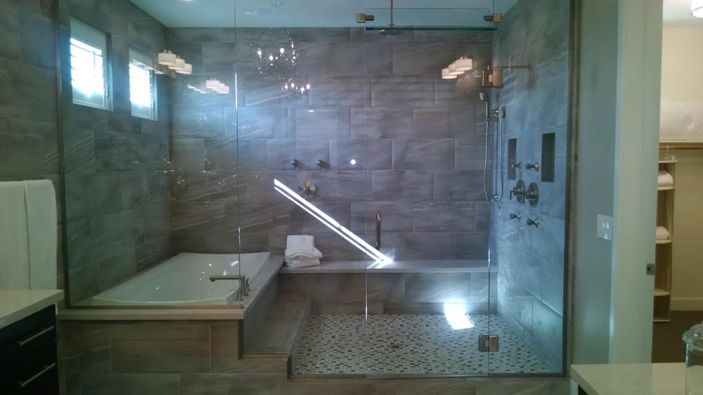 This Ashton Woods Model Home Features A Tub Inside A