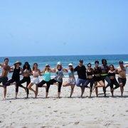Photo Of Beach Yoga Socal Santa Monica Ca United States