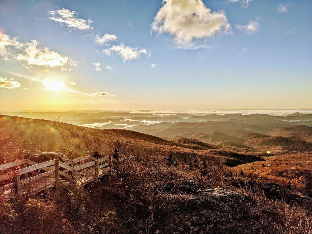 Rough Ridge Overlook: Tanawha Trl, Linville, NC