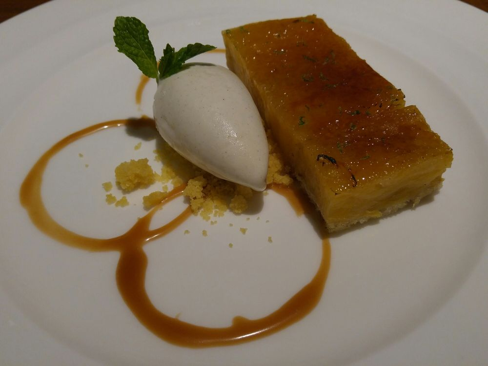 Pineapple upside down cake yelp for Fish by jose andres