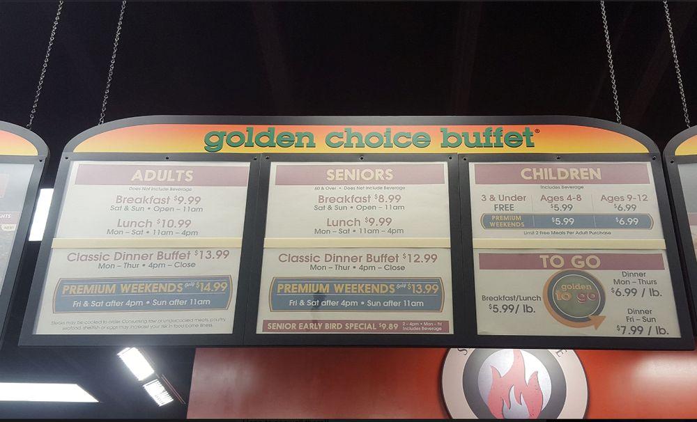 Golden Corral in San Bernardino prices... - Yelp