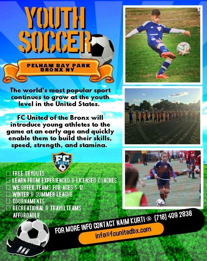 Bronx Youth Soccer Club: Bronx, NY