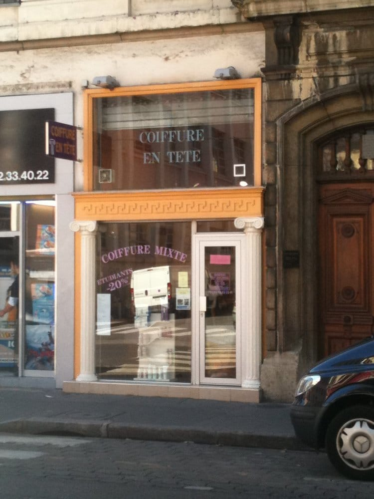 Coiffure en t te hair salons 252 cours lafayette for Aate beauty salon