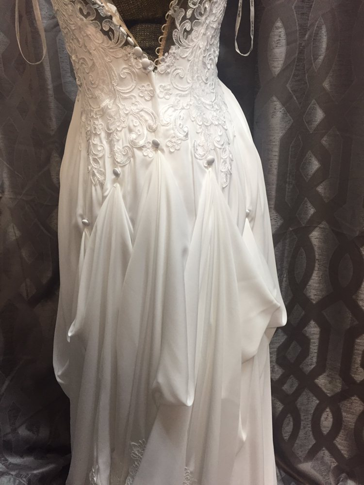 5 Point Bustle On A Wedding Dress Yelp