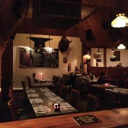 Photo Of Grizzly House Restaurant Banff Ab Canada Fondue Wild Animals