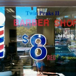 Twin peaks ii barber shop barber rancho santa for 18 8 salon rancho santa margarita
