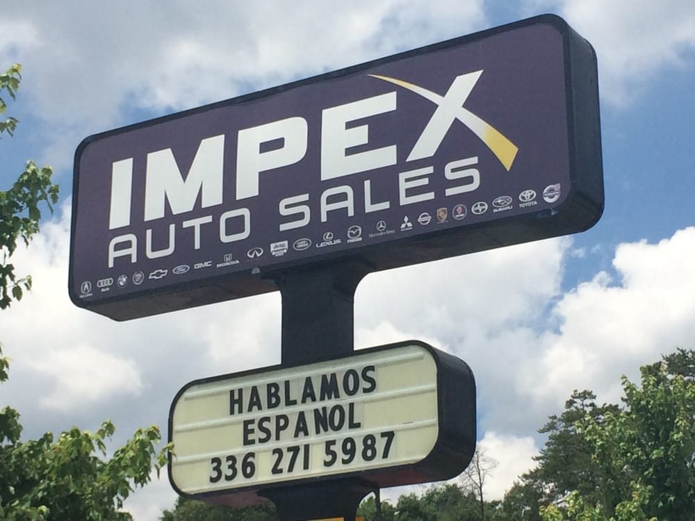 Impex Auto Sales Reviews >> Impex Auto Sales - 11 Photos & 20 Reviews - Car Dealers - 3512 S Holden Rd, Greensboro, NC ...