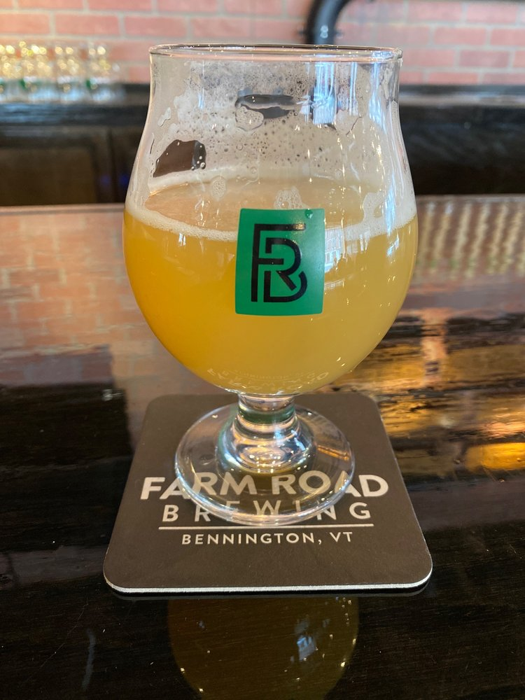 Food from Farm Road Brewing