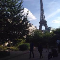 Café Branly - Paris, France. Salut Gustave!