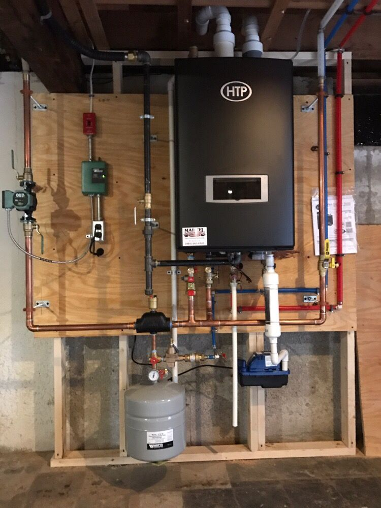 HTP 95%, high efficiency heat and hot water combo gas boiler. $1000 ...