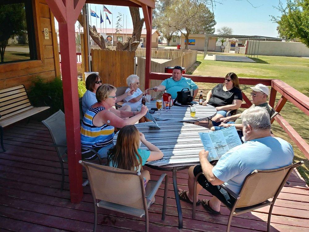 Bent Prop Saloon & Cookery: 4828 N Taylor St, Eloy, AZ
