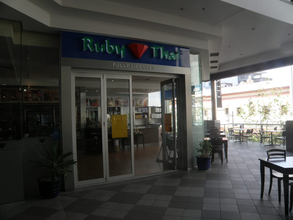 Ruby thai fast food 160 st georges tce perth city for 160 st georges terrace
