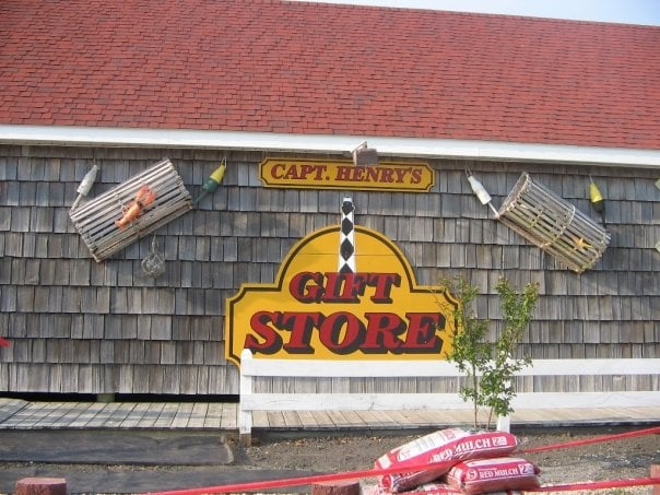 Captain Henry's Gift Shop: 1341 Island Rd, Harkers Island, NC