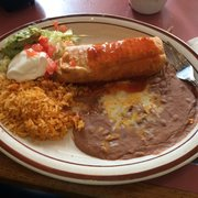 Neat Painting On Photo Of Mazatlan Mexican Restaurant Tigard Or United States Savory En Chimichanga