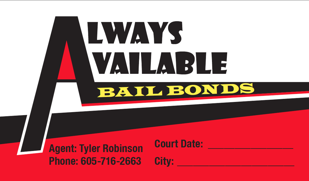 Always Available Bail Bonds Rapid City Sd