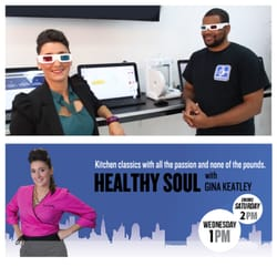 3D Heights - Manhattan, NY, United States. Healthy Soul with Gina Keatley visits 3D Heights. Be Fearless, Be Full