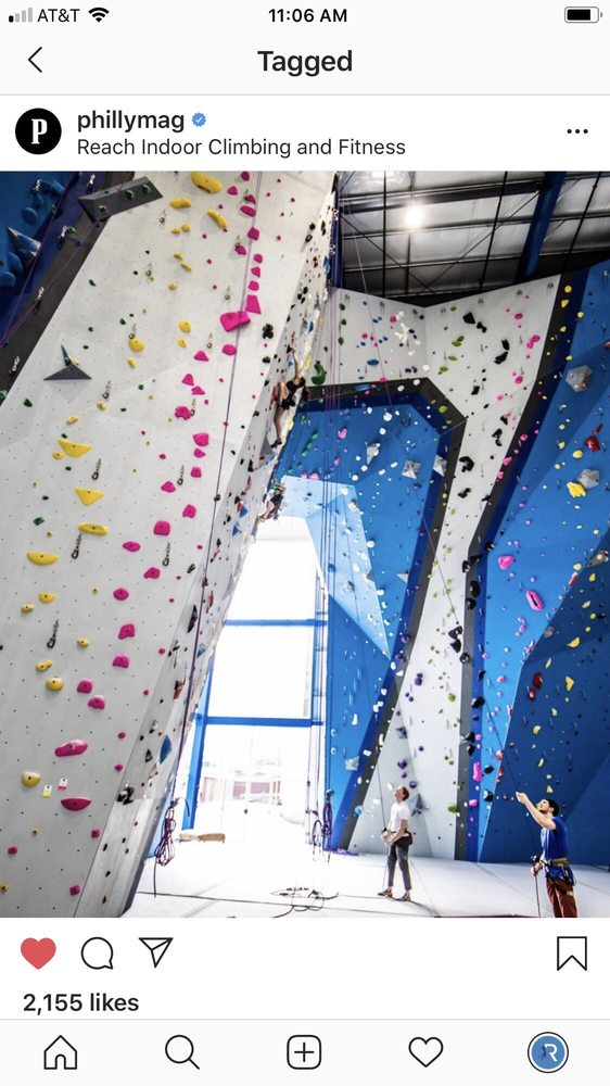 Reach Climbing and Fitness: 401 E 4th St, Bridgeport, PA