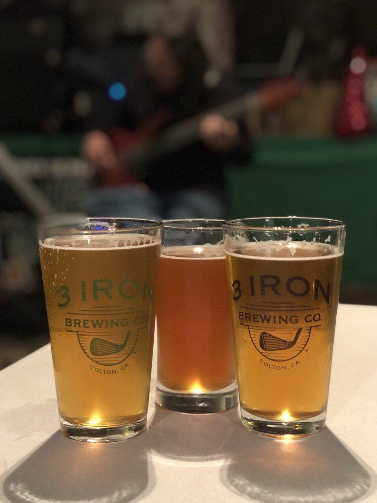 3 Iron Brewing Company: 898 Via Lata, Colton, CA