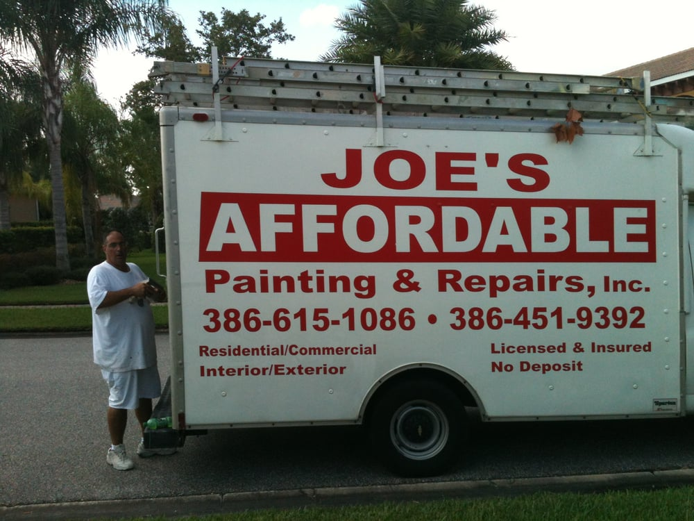 Joe's Affordable Painting and Repairs