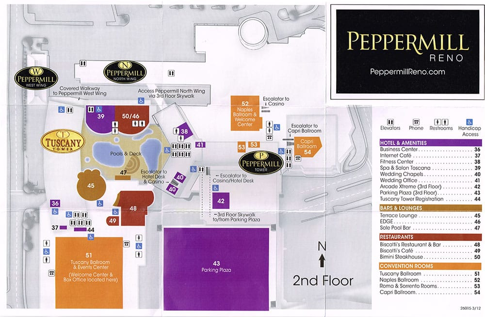 Peppermill Hotel In Reno Peppermill Tower Suites Rooms