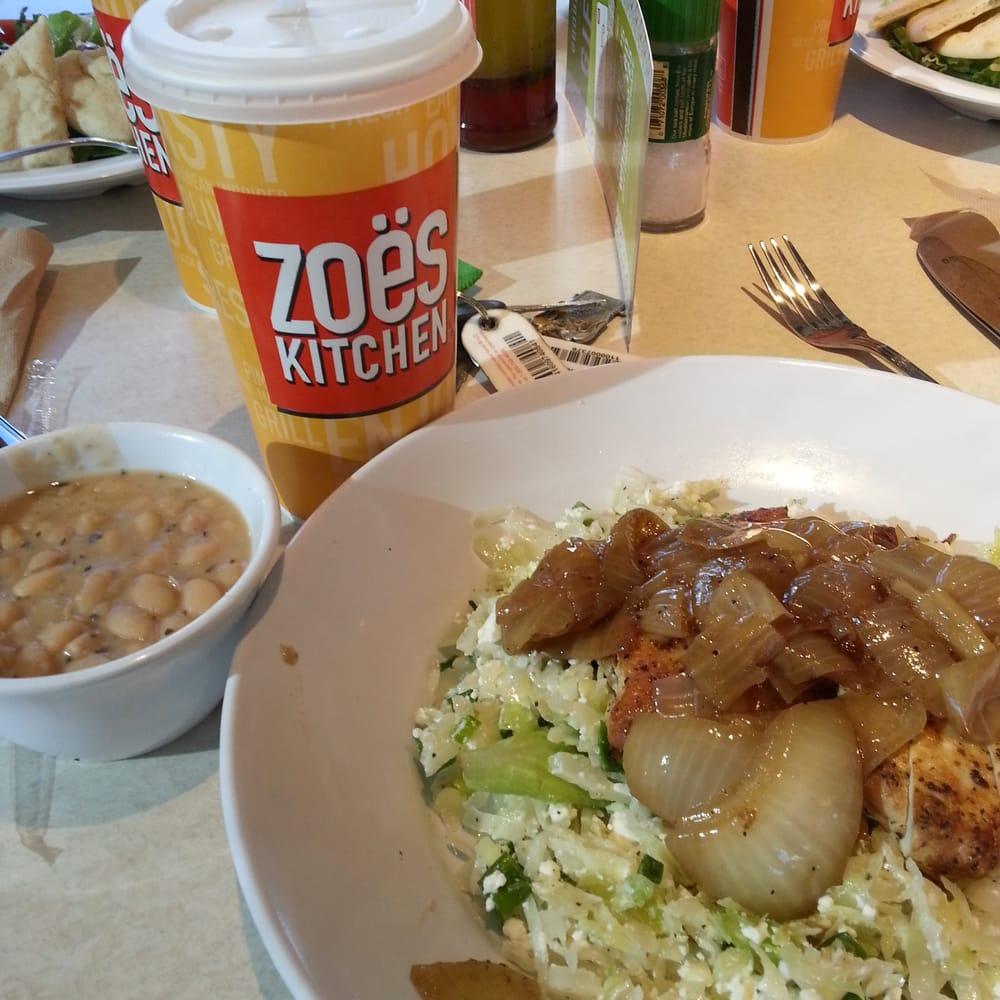 Zoes Kitchen Athens Menu