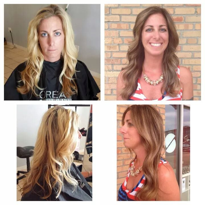 Summer To Fall Transformation On Myself Given To Me By Stylist