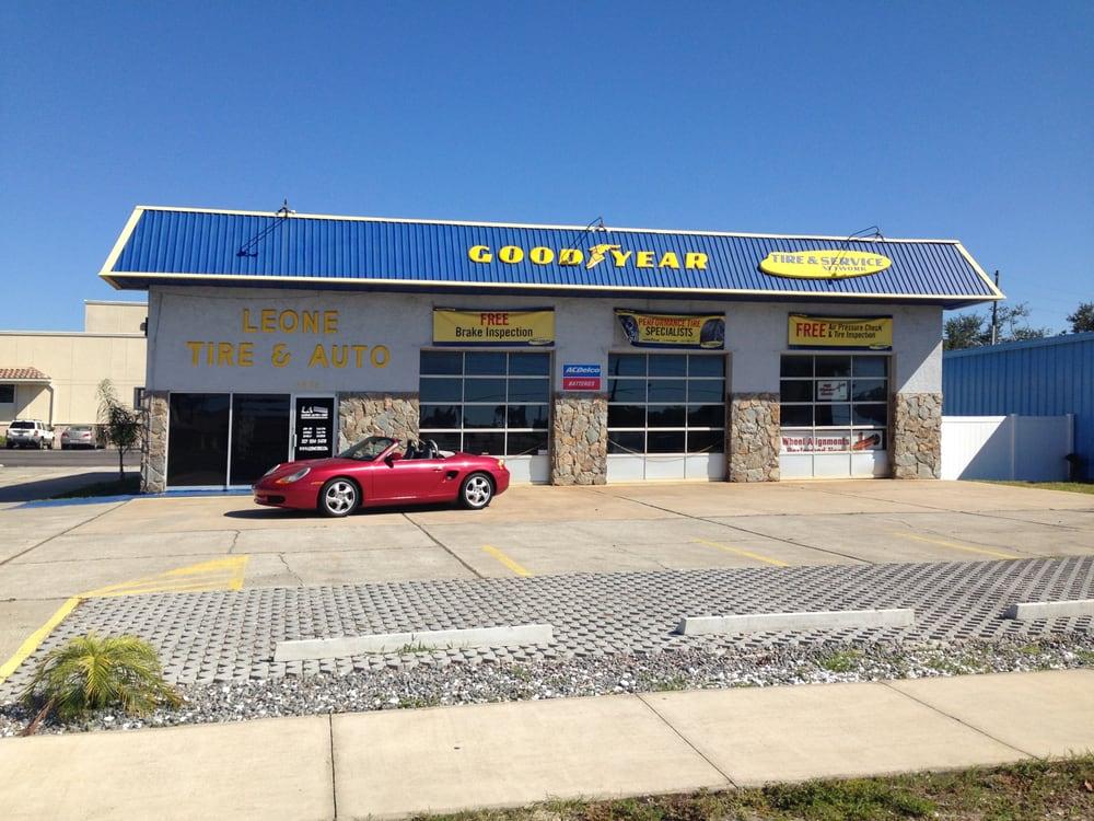 Goodyear Leone Tire & Auto: 2424 US Hwy 19 N, Holiday, FL