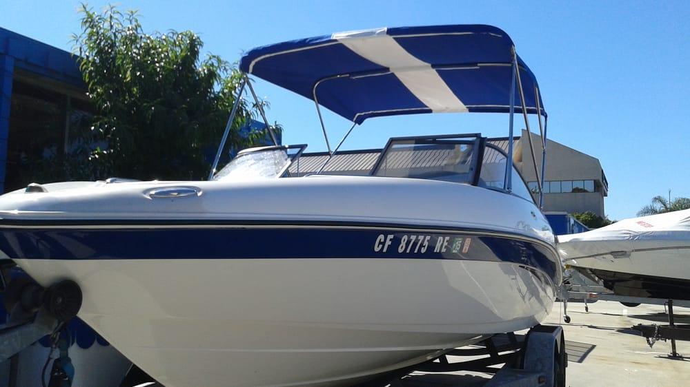 Dna Marine Canvas Upholstery 10 Photos Boat Repair 3661 Camino Del Rio S San Diego Ca