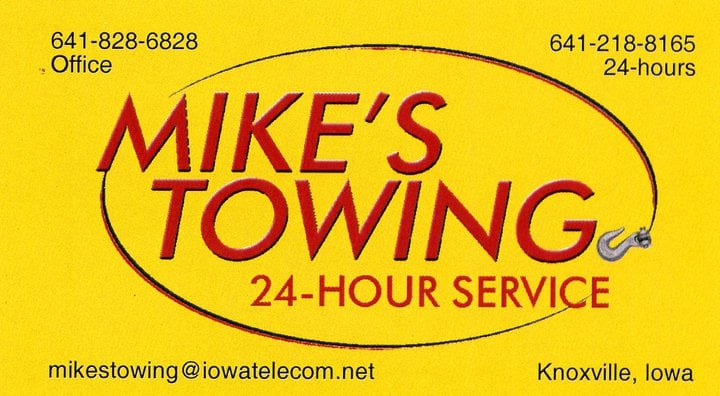 Towing business in Pella, IA