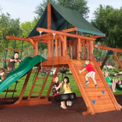 Photo Of Backyard Adventures   Boerne, TX, United States. AVALANCHE PLAY SET