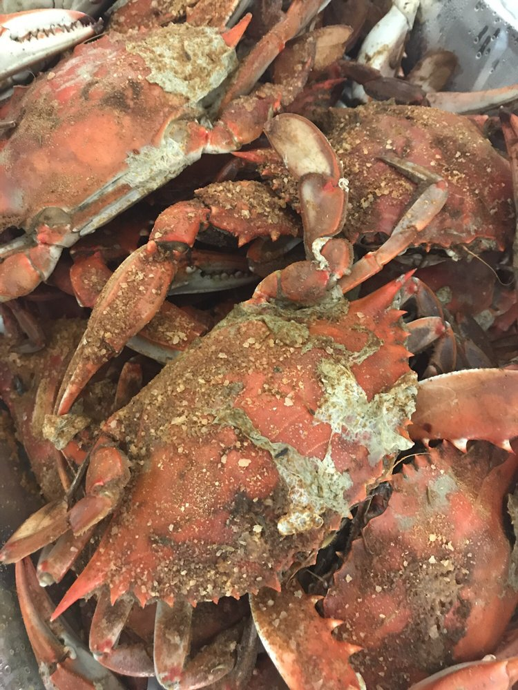 Blue claw seafood market 14 beitr ge fischmarkt 1103 for Fish market jersey city