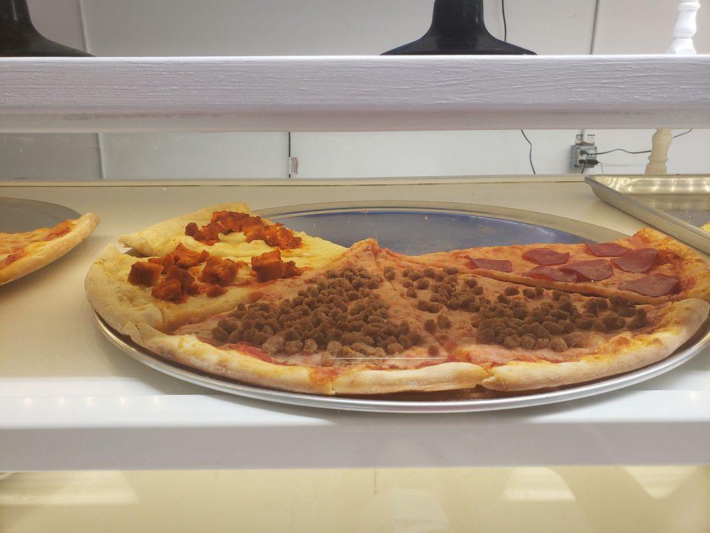 Three Guys Bakery Pizza: 1607 Columbia Turnpike, Castleton-on-Hudson, NY
