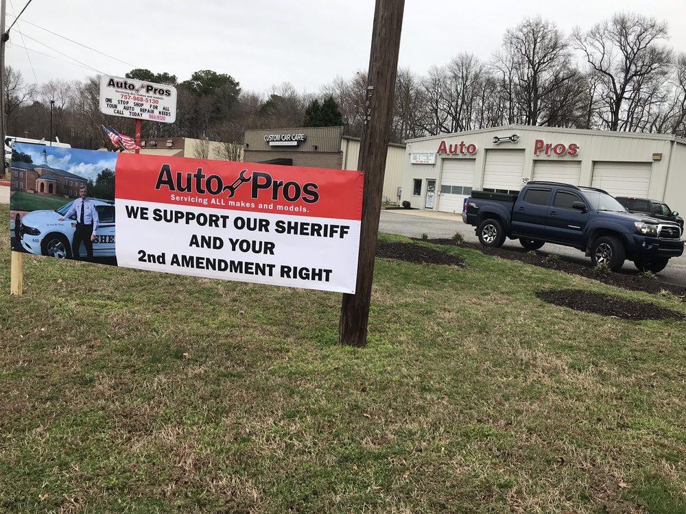 Auto Pros: 1808 George Washington Memorial Hwy, Yorktown, VA
