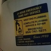 Image Result For West End Plumbing Fort Lauderdale Fl