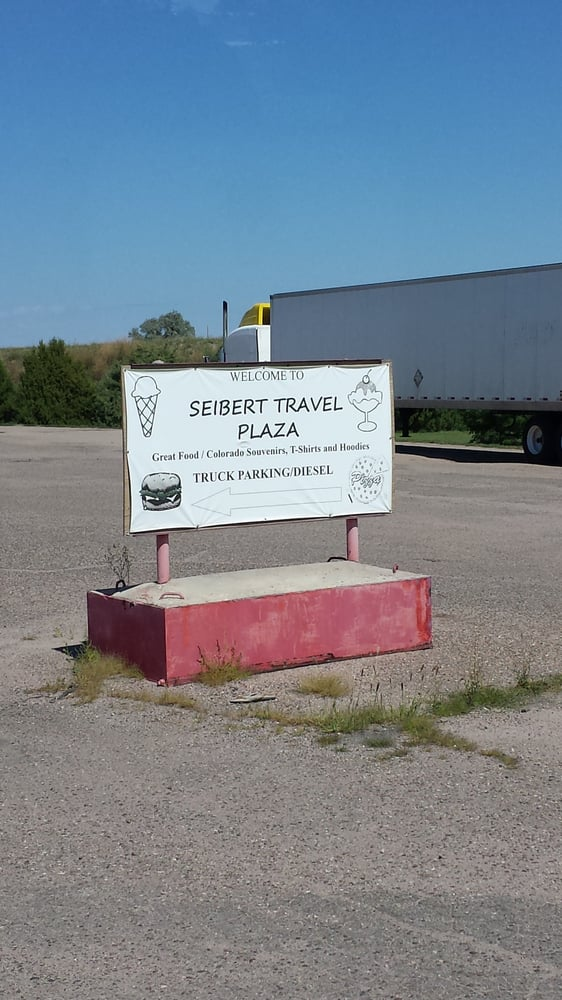 Seibert Travel Plaza: 17507 CO-59, Seibert, CO