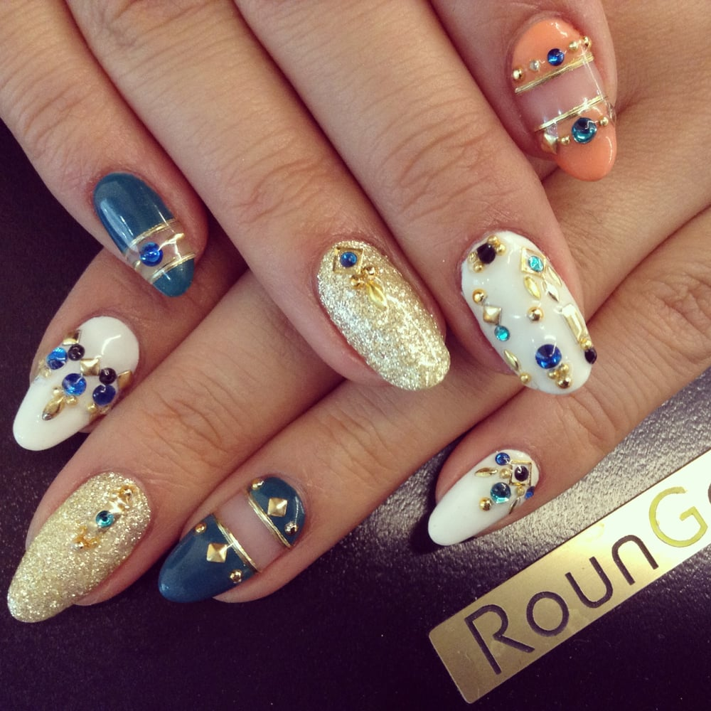 First visitors 80 gel nails 90 acrylic nails for any designs photo of rounge nyc nail salon new york ny united states first prinsesfo Images